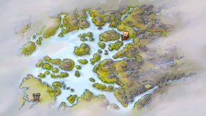 Illustrasjonskart over Ryfylke og Stavanger