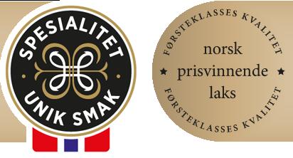 King Mikal laks er norsk prisvinnende laks med merking for lokal spesialitet.